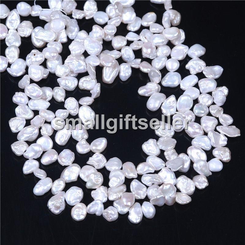 Wholesale AA 8-9mm laveader Keshi Pearl Beads 1 Strand Loose 15/'/'