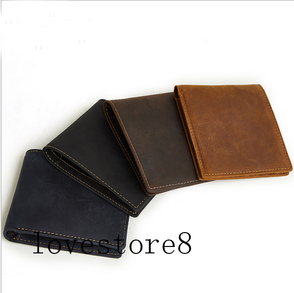 Baborry Vintage Leather Wallet RFID Blocking Men/'s Purse Bifold Zipper Coin Bag