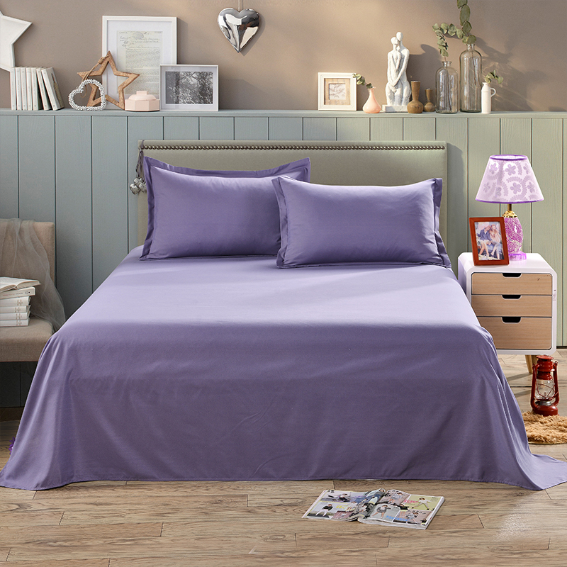queen twin full size bed sheets flat sheet cover pillow case comfort solid color ebay. Black Bedroom Furniture Sets. Home Design Ideas