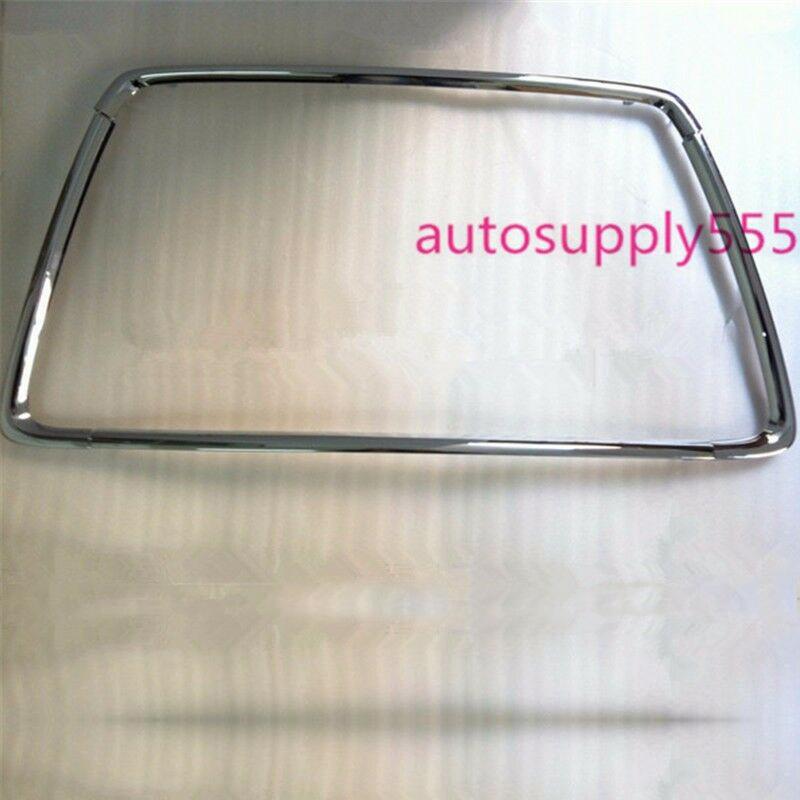 MITSUBISHI OUTLANDER SPORT ASX RVR 13-2015 Bumper Radiator Grill CHROME molding