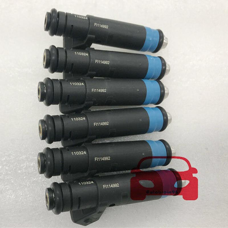 6pcs Fuel Injectors for Deka 80 LB High Impedance EV1 110324 FI114992
