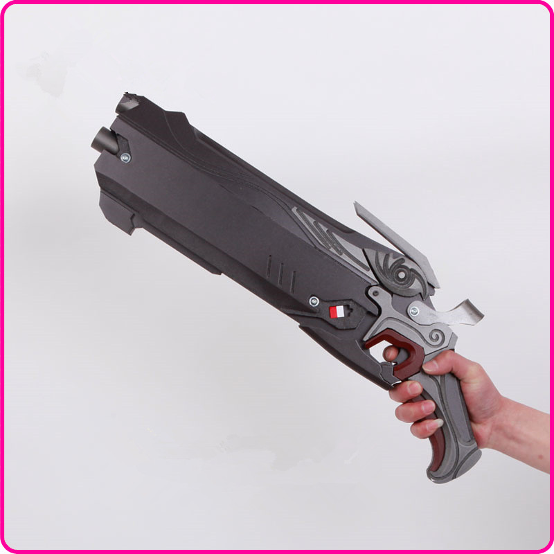 Game Overwatch OW Reaper 2 Shotguns PVC Gun Anime ...