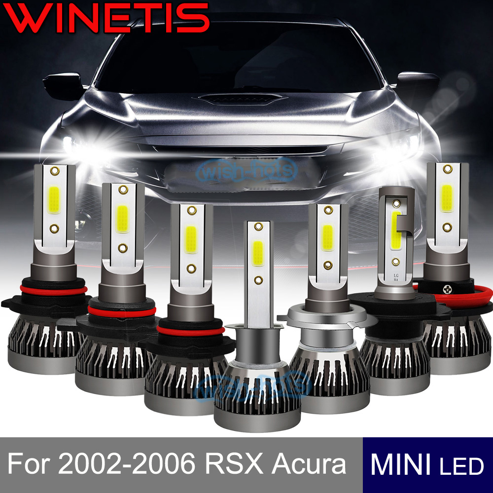 FOR 2002-2006 RSX Acura H1 Low Beam Headlight Fog Light
