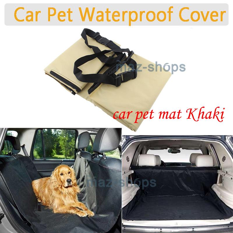 Dog Car Protector >> Details About Car Seat Cover Pet Dog Car Protector Pet Rear Back Car Mat Waterproof Non Slip