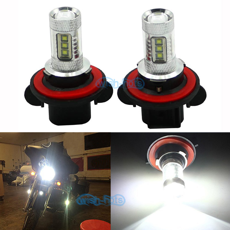 100W 8000K Headlight Bulb FOR POLARIS Ranger RZR 570S 800S 900S 1000 XP Turbo
