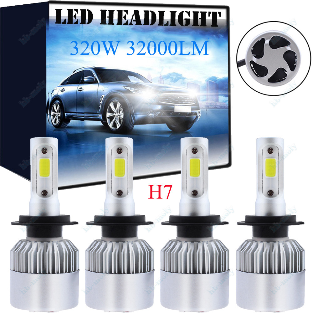 Mercedes Sprinter 903 3-T H3 100w Super White Xenon High Beam Headlight Bulbs