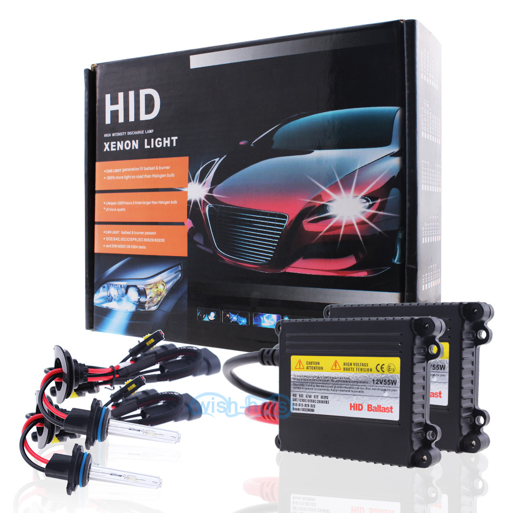 55W Gold Slim HID Xenon Conversion Kit 9005 9006 H11 for 1990-2017 Honda Accord