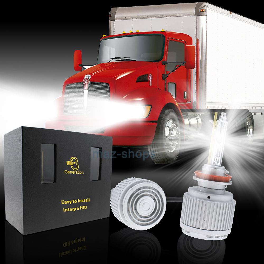 AC 55W H11 Low Beam HID Kit Headlight For Kenworth T370 T660 T600 T270 T800  T470