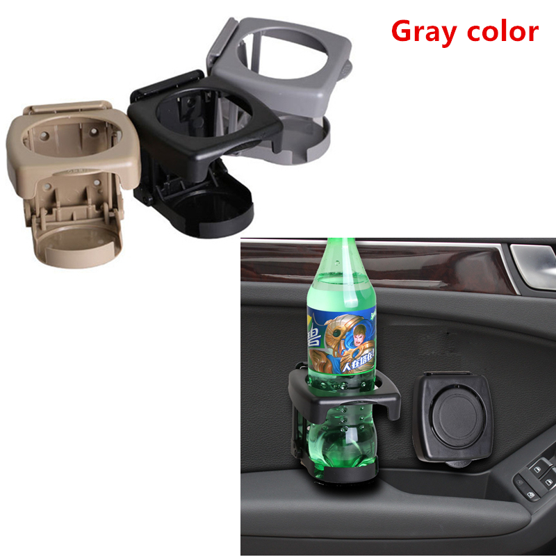 2pcs Universal Car Truck Drink Water Cup Bottle Can Holder Mount Stand Black US