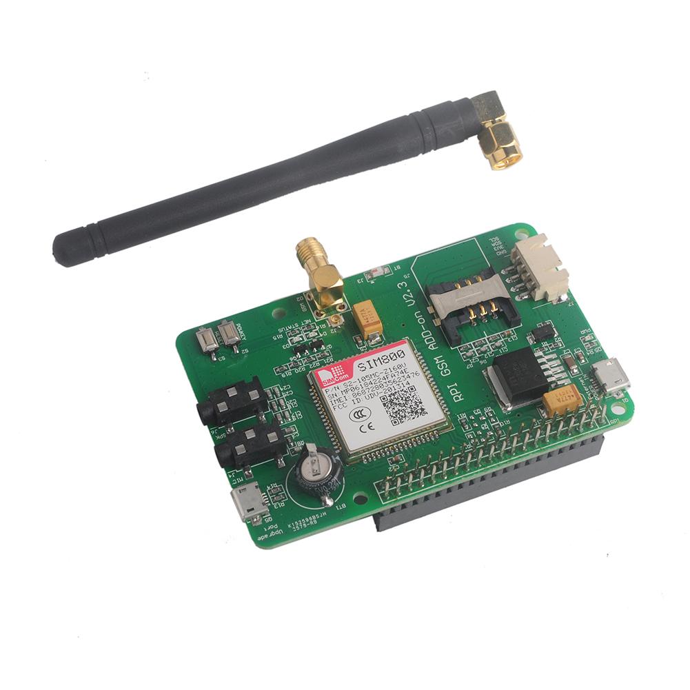 Details about SIM800 GSM GPRS Module UART V2 3 Message Expansion Board for  Raspberry Pi