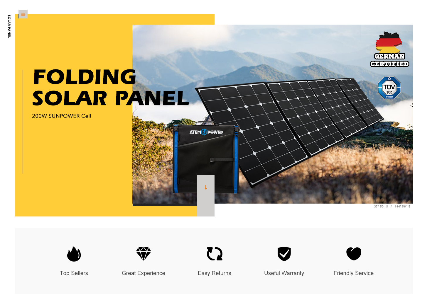 200W 12V Flexible Folding Solar Panel Blanket Portable