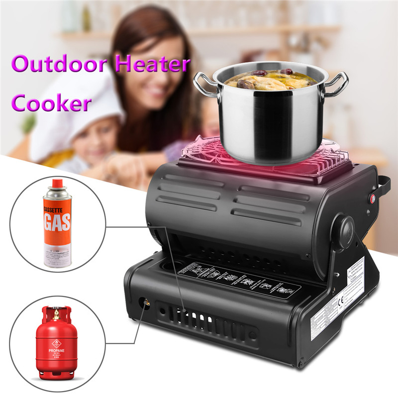 Portable Gas Heater Camping Camp Tent Hiking Outdoor