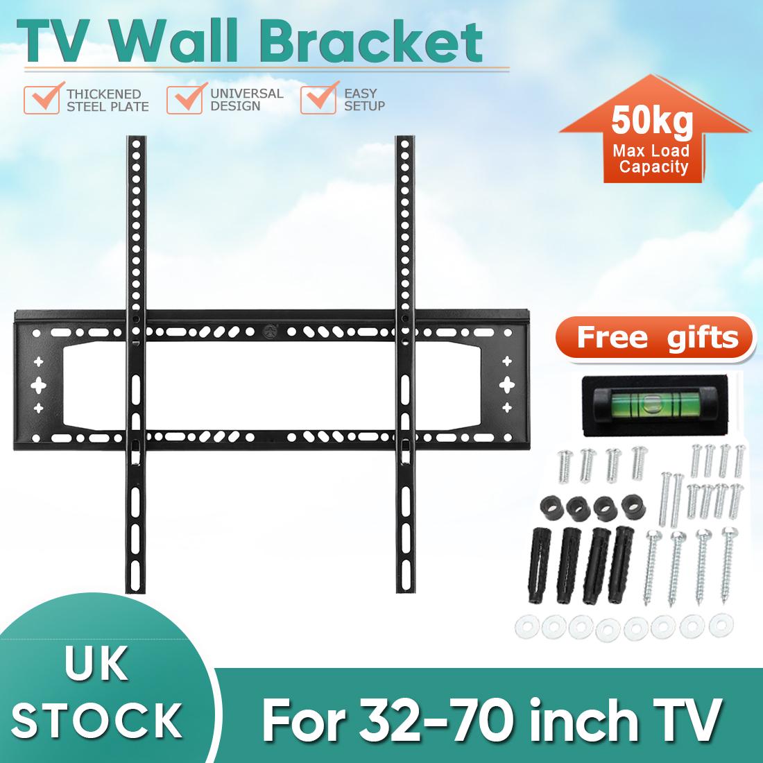 Tv Wall Bracket Mount 32 37 40 42 46 48 50 55 60 70 Quot Inch