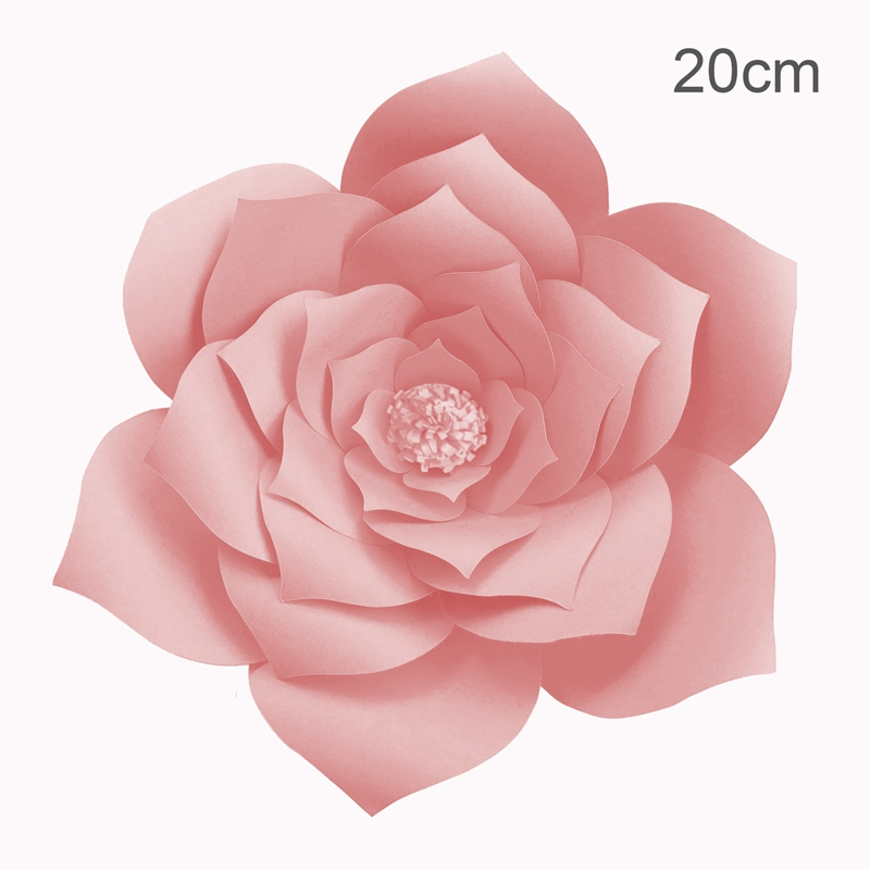 2pcs paper flower backdrop wall 20cm giant rose flowers diy wedding 2pcs paper flower backdrop wall 20cm giant rose flowers diy wedding party decor mightylinksfo