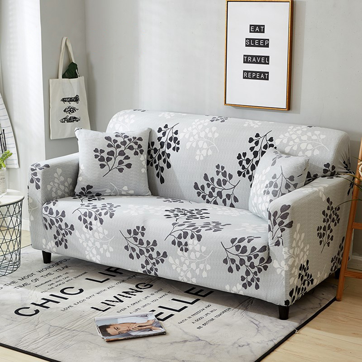 Tremendous Details About Easy Fit Stretch Couch Sofa Lounge Covers Slipcover 1 2 3 4 Seater Cover Chair Pabps2019 Chair Design Images Pabps2019Com