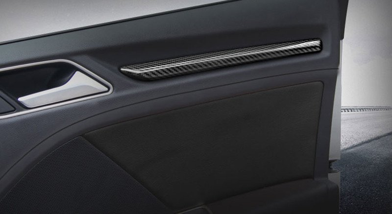 Pinalloy KARBON Dekorleisten Interieur Leisten carbon Trim Audi A3 S3 8V 2012-16