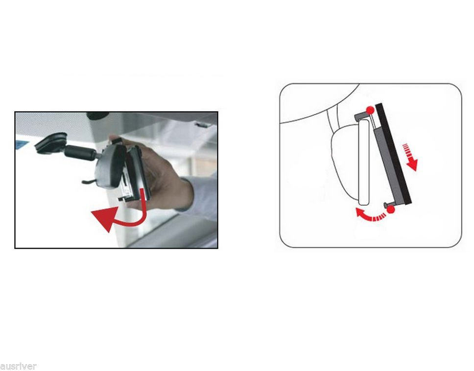 Napolex Broadway Convex Wide Car Rear View Mirror Cutting Off Dazzling 240mm