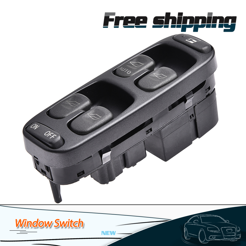 Fit 1998-2000 Volvo XC70 V70 S70 LH Electric Power Window Master Control Switch