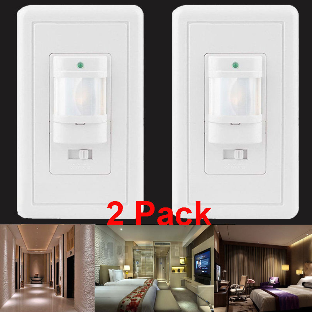 Lots Auto On//Off Infrared PIR Occupancy Vacancy Motion Sensor Light Lamp Switch