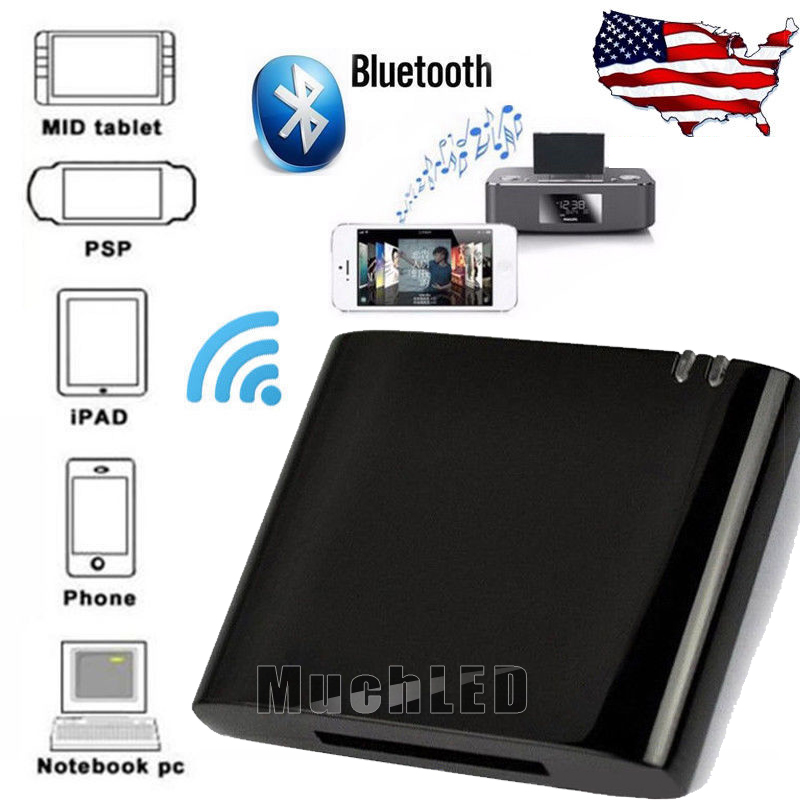 Details about Bluetooth Music Receiver Adapter for Bose Sounddock Series I  II 10 & Portable US