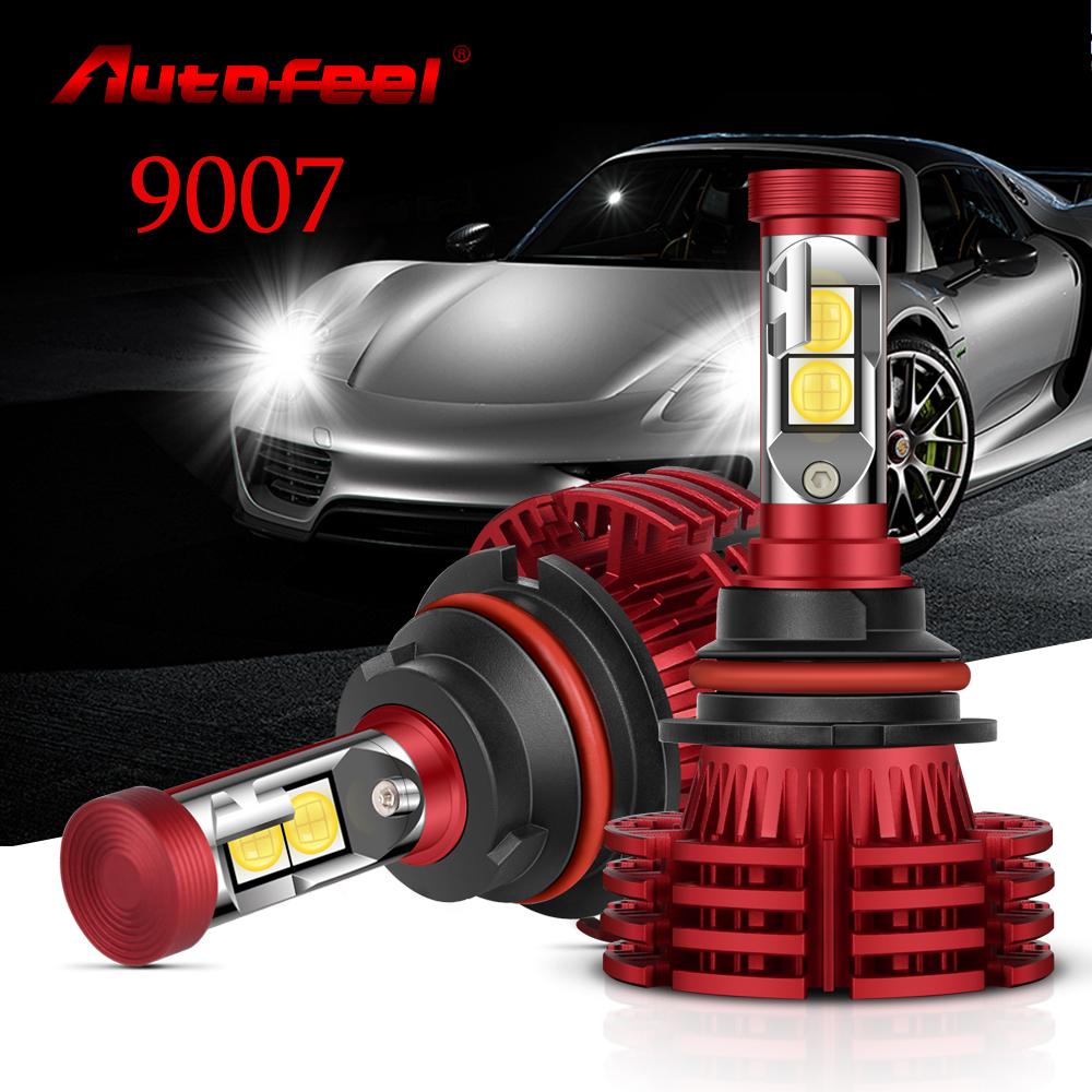 1955W 293250LM All In One LED 9007 Headlight Kit Hi//Lo Beam 6000K White Power
