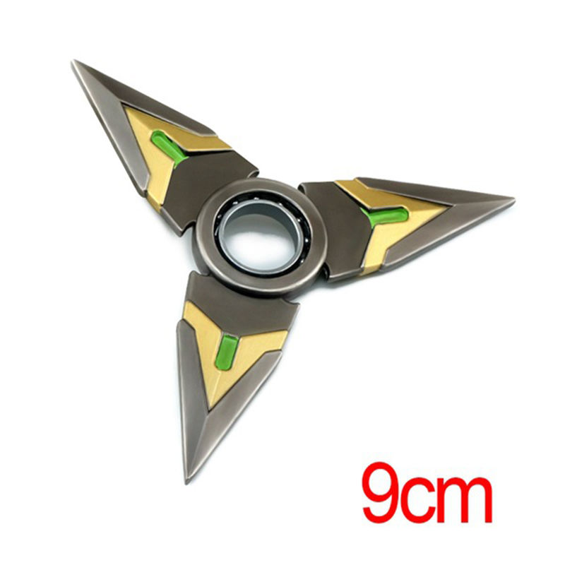 Overwatch-OW-Genji-Rotatable-darts-Weapon-Cosplay-Costume-Accessory-Toy-Gift-New