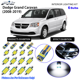 6 Bulbs Led Interior Light Kit White For 2008 2019 Dodge Grand Caravan Se Sxt Ebay