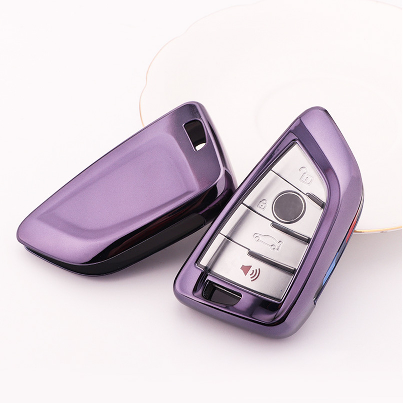 Car Full Sealed TPU Key Fob Cover Case Accessories For BMW ...