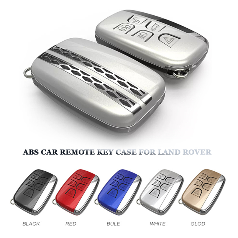 Rose Gold Car Key Cover Case Fit For Land Range Rover Evoque Discovery 4