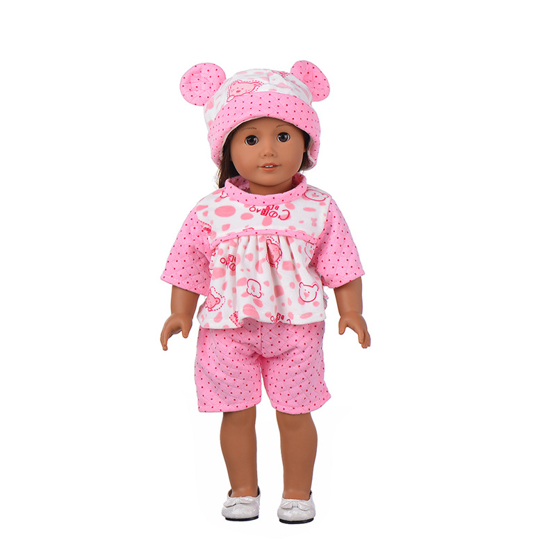 Baby Born Doll Clothes Fit 17inch Zapf Dolls Sleeping