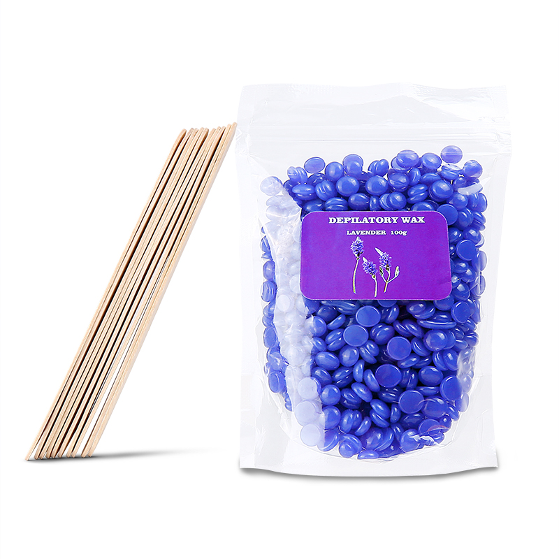 Details about 100G-1KG Hard Wax Beads Beans Depilatory Waxing Hair Removal  Epilator Full Body