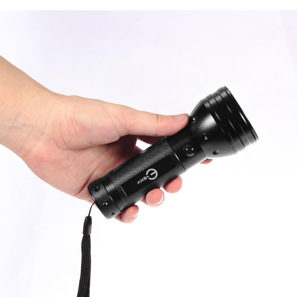 Contamination Blacklight UV Ultraviolet Flashlight Inspection Lamp Torch 395 Nm
