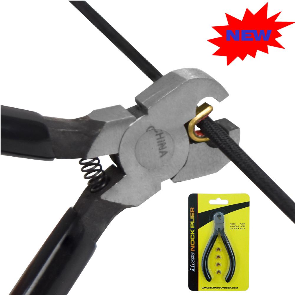 Archery Bow Nocking Pliers,Copper Buckle Pliers,Nock Point Clip String Archery Bow Plier