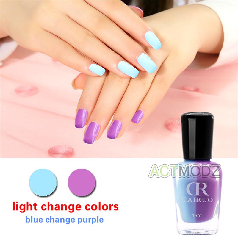 16ml Light Chameleon Changing Color Nail Polish Water