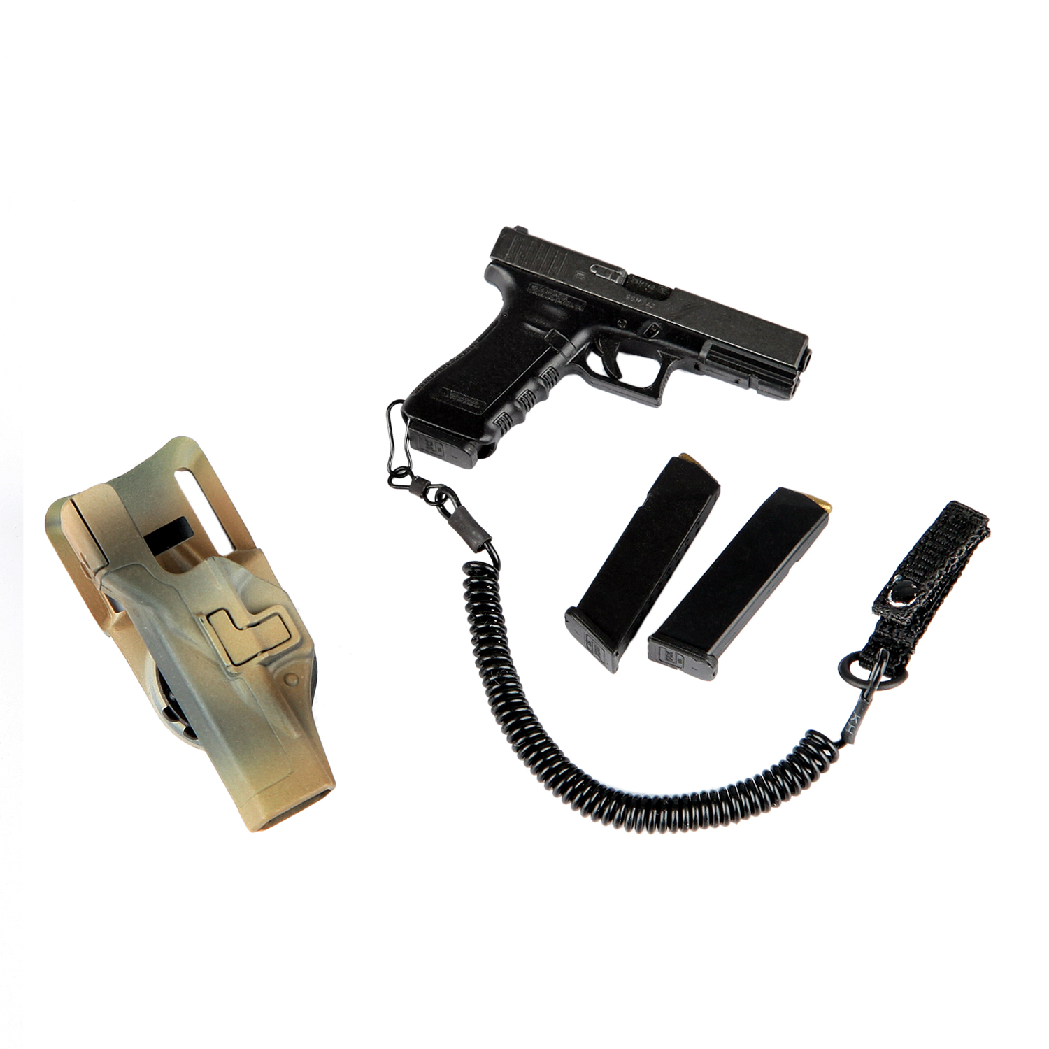 """1//6 Scale Soldier Story SS104 German KSM VBSS 12/"""" Action Figure Pistol Holster"""