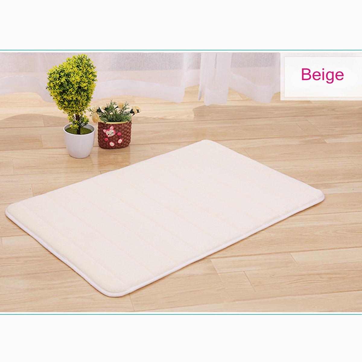 Details about Non-slip Absorbent Floor Carpet Soft Memory Foam Mat Kitchen  Bathroom Rug Carpet