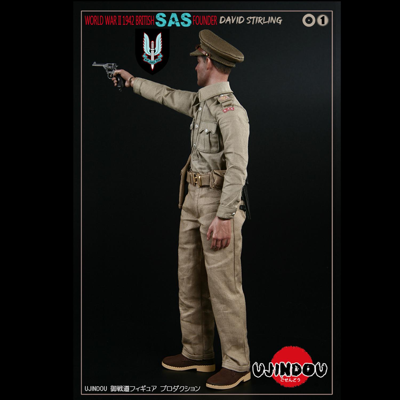 David Stirling SAS Founder Officer Hat #2-1//6 Scale UJINDOU Action Figures