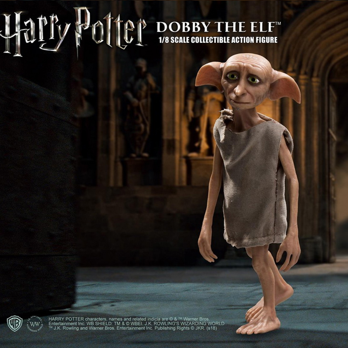 Star Ace Toys SA8010 1//8 Scale Harry Potter series Dobby 12CM Action Figure