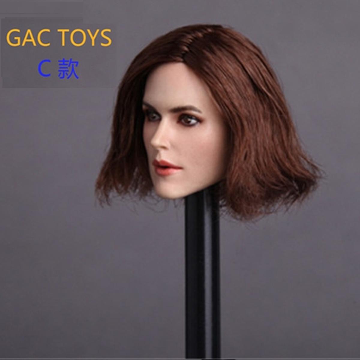 1//6 Female Keira Knightley Head Sculpt GC007 For Hot Toys Phicen Female Figure