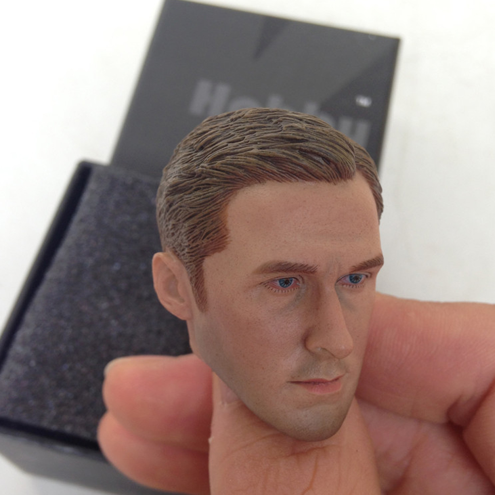 "1//6 Scale Ryan Gosling Drive Head Sculpt Driver Carved 12/"" Hot Toys Figure Body"