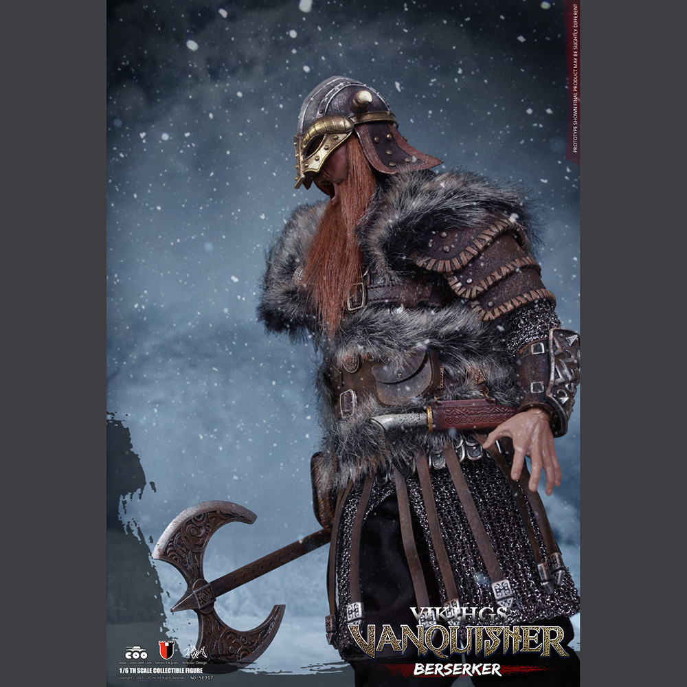 1//6 COOMODEL NO.SE017 VIKING VANQUISHER Die-cast Alloy BERSERKER Armor Coat Toys
