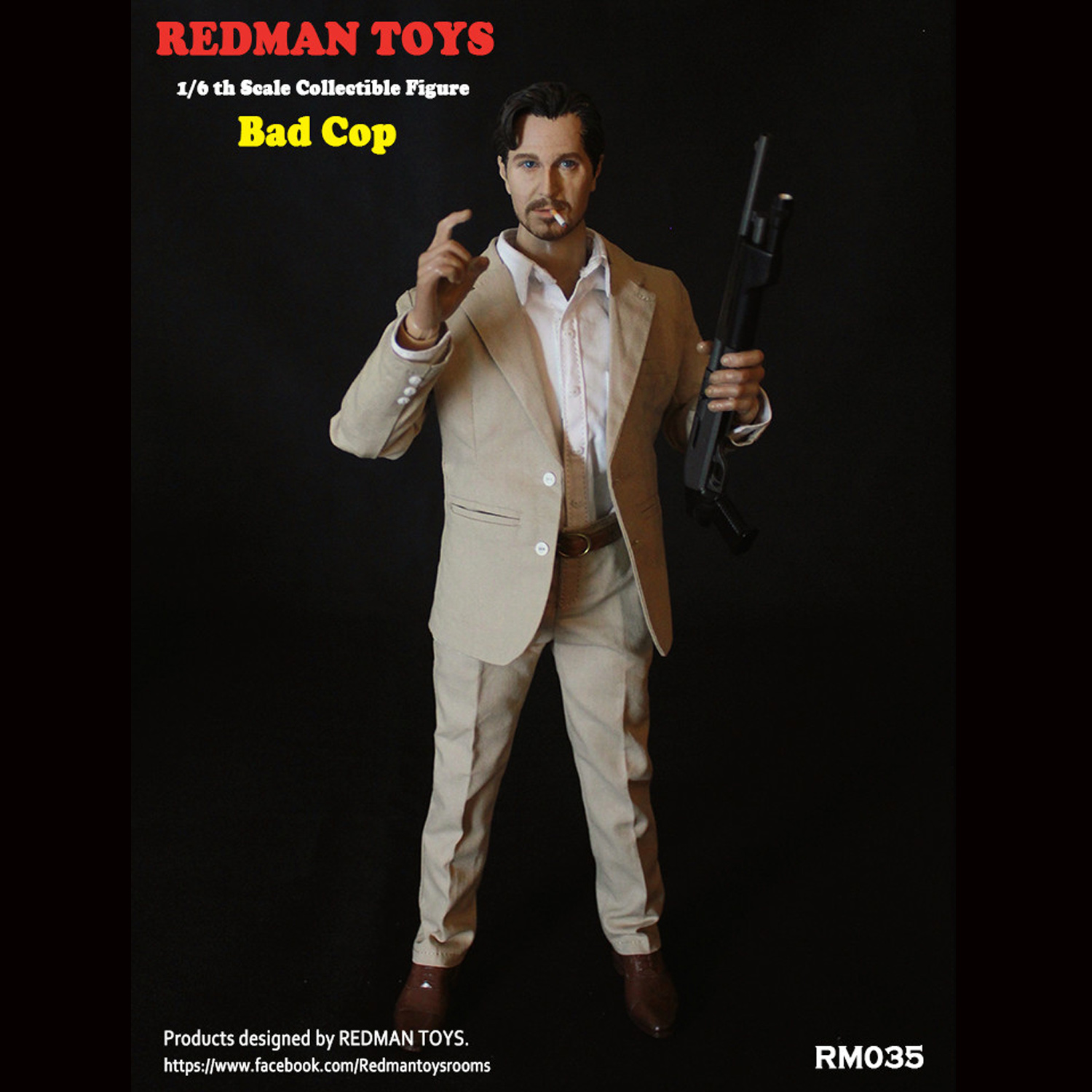 Redman The Bad Nude Body with Hands 1//6 Scale 12 inch Action Figure