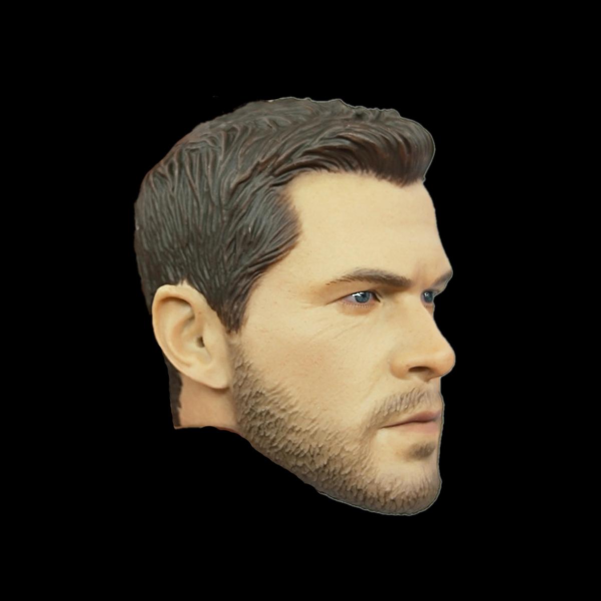 "EASY/&SIMPLE ES 26032 1//6 Scale SAS CRW Male Head Sculpt For 12/"" Figure Brand New"
