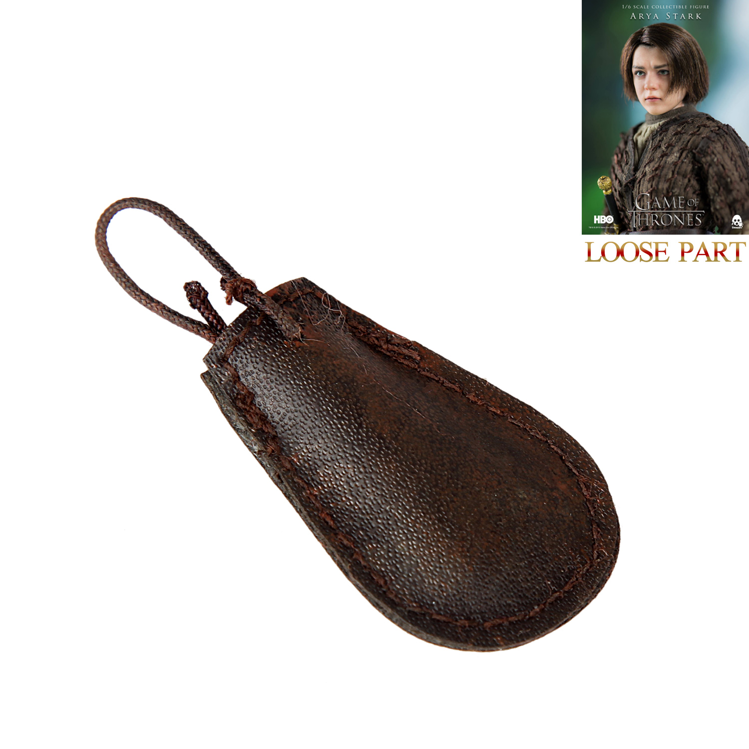 ThreeZero 3Z0049 1//6 Scale Game of Thrones Arya Stark Coin Pouch with Coins