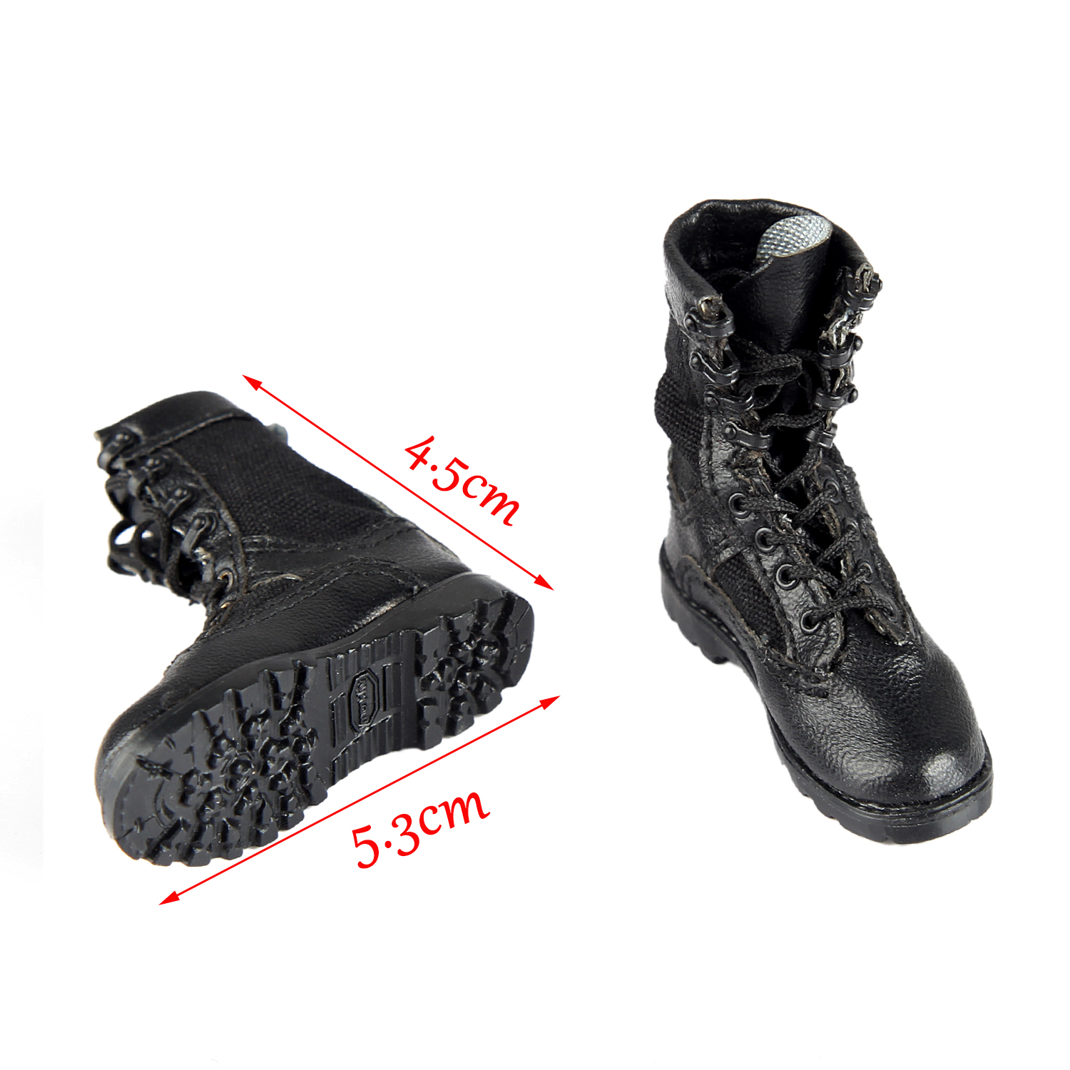 """DAMTOYS 78050 1//6 Scale Navy Commanding Officer 12/"""" Action Figure Combat Boots"""