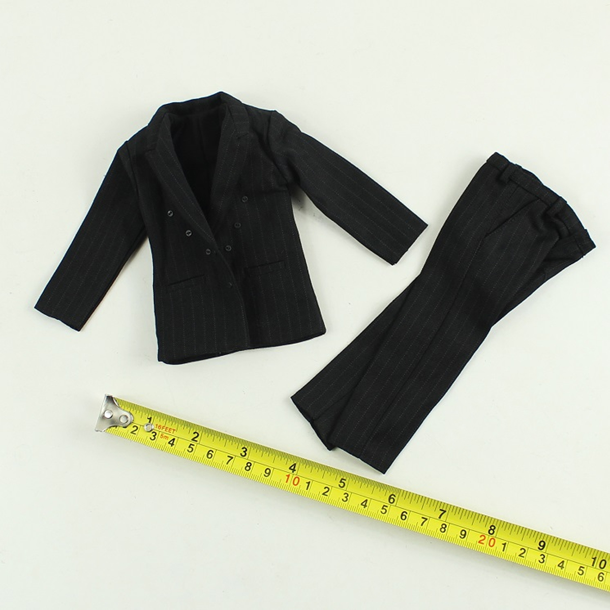 """1//6 Scale Male Black Shirt  for 12/"""" Hot Toys Action Figure Body"""