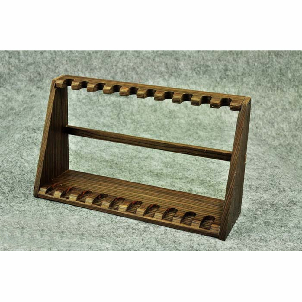 """ZYTOYS 1//6 Scale Gun Racks Rifle Stand Wooden For 12/"""" Figure Scene Accessories"""