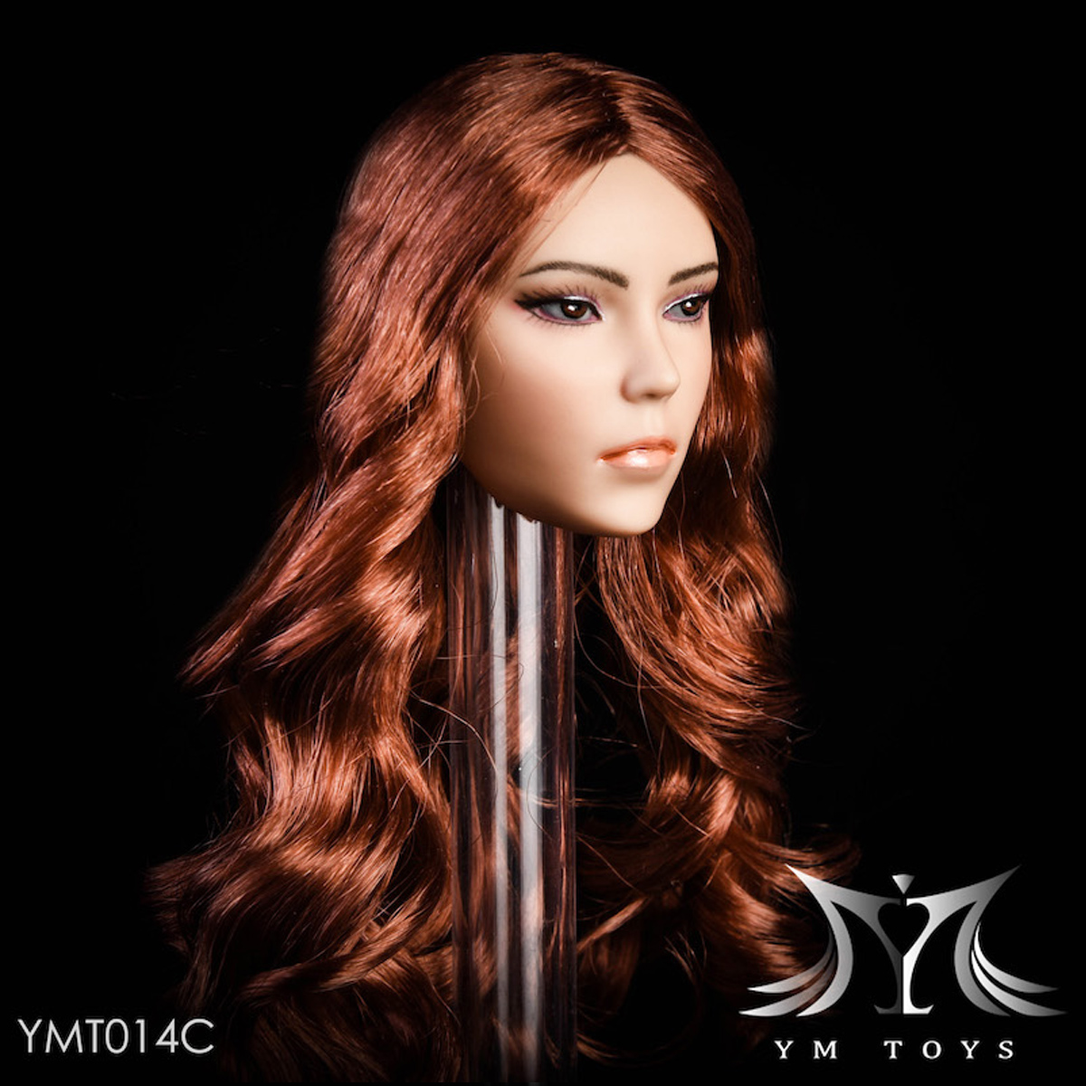 YMTOYS 1//6 YMT014B Female Head Carved Head Model Figure Collection