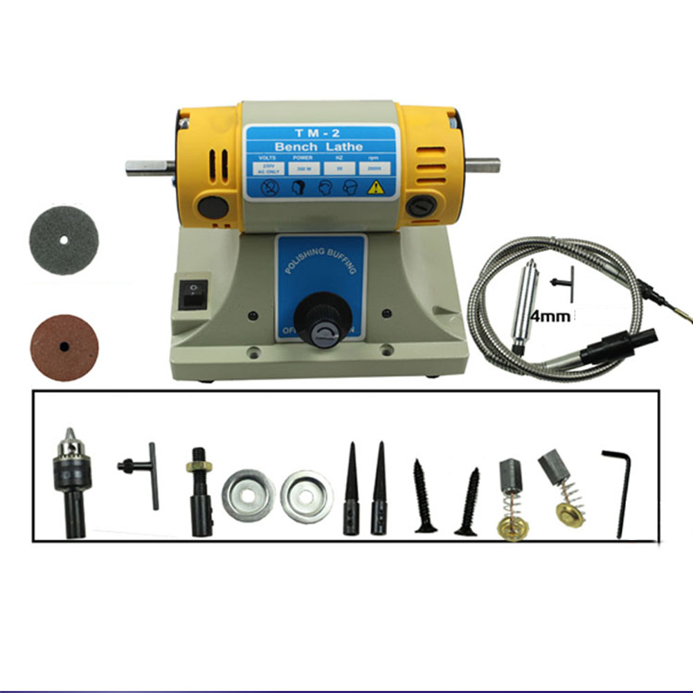 350w Rotary Polishing Machine For Dental Jewelry Motor