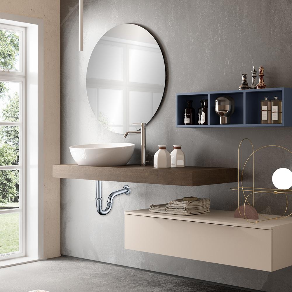 ablaufventil pop up sifon siphon ablaufgarnitur abfluss mit berlauf waschbecken ebay. Black Bedroom Furniture Sets. Home Design Ideas
